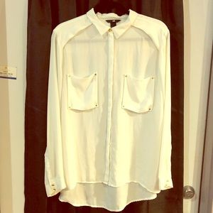 Beautiful sheer button up from H&M